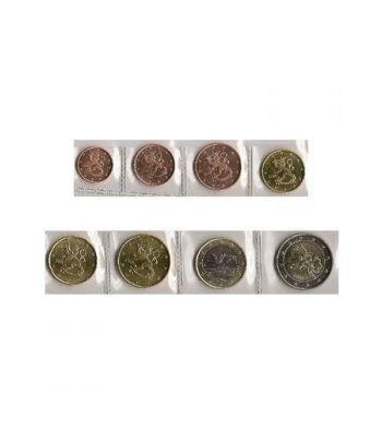 monedas euro serie Finlandia 2008  - 2