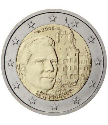 moneda conmemorativa 2 euros Luxemburgo 2008.  - 2