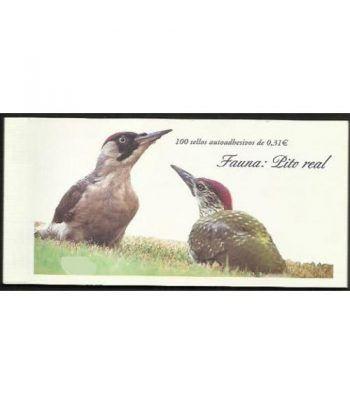4376 Fauna y Flora (2008) PITO REAL (carnet de 100 sellos)  - 2