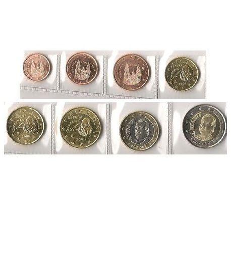 monedas euro serie España 2008  - 2