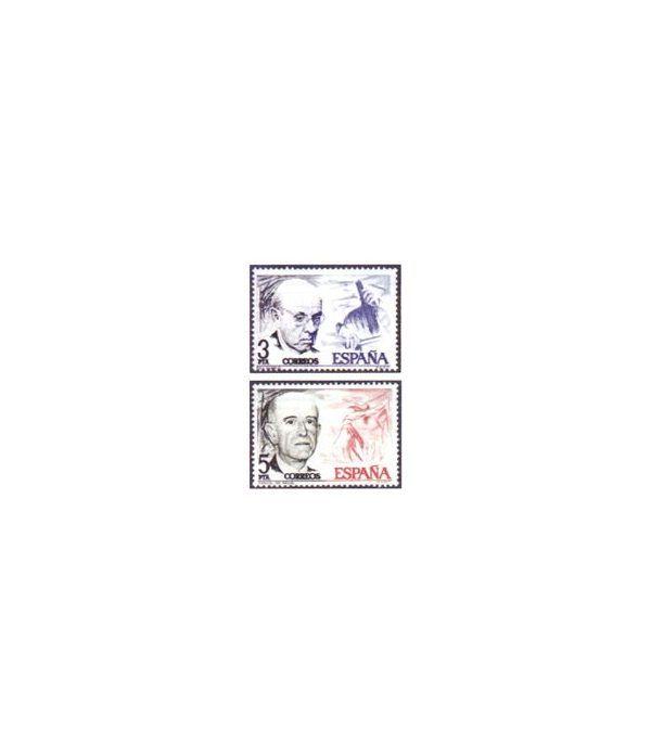 2379/80 Pau Casals y Manuel de Falla  - 2