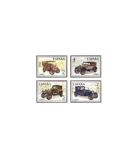 2409/12 Automóviles antiguos españoles  - 2