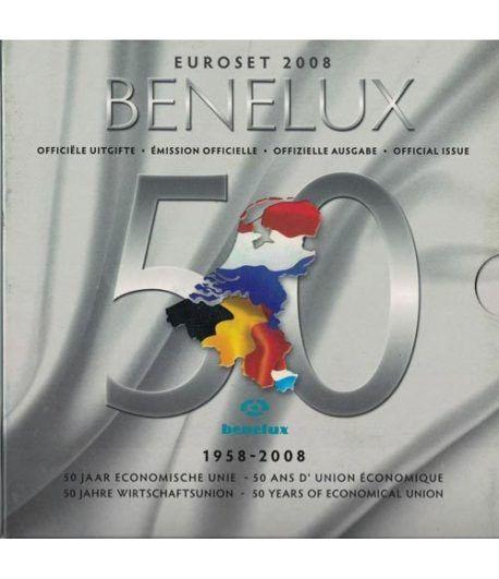 Cartera oficial euroset Benelux 2008  - 2