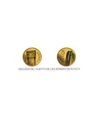 5 Pesetas. (1999) Madrid - (FACHADA DEL HUERTO DE LAS BOMBAS)  - 2