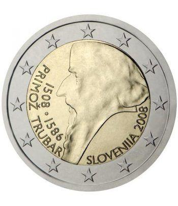 moneda conmemorativa 2 euros Eslovenia 2008.  - 2