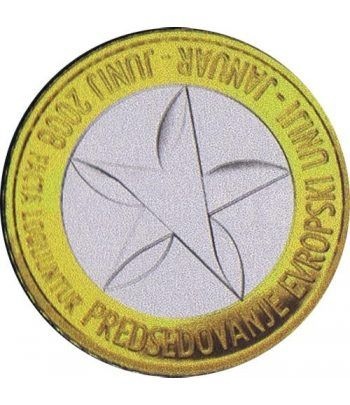 moneda Eslovenia 3 Euros 2008  - 4