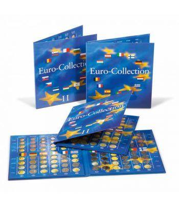 LEUCHTTURM PRESSO Eurocollection II. Carpeta 12 países Album Monedas Euro - 2