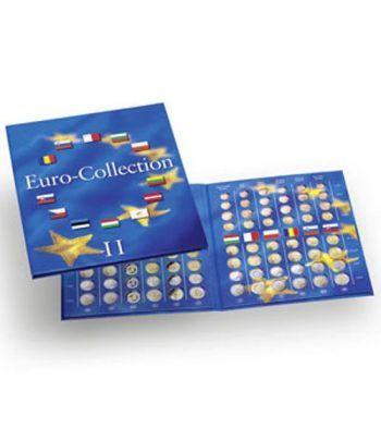 LEUCHTTURM PRESSO Eurocollection II. Carpeta 12 países Album Monedas Euro - 6