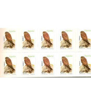 4377 Fauna y Flora (2008) CERNICALO COMUN (hoja de 10 sellos)  - 2