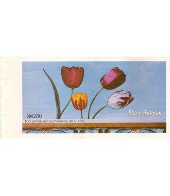 4381 Fauna y Flora (2008) TULIPAN (carnet de 100 sellos)  - 2