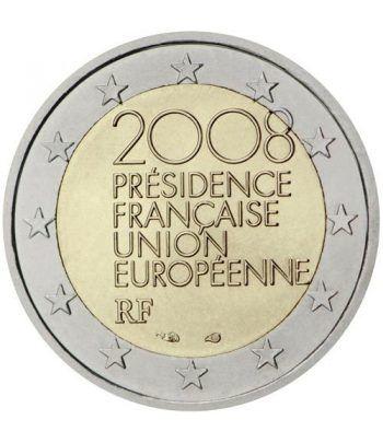moneda conmemorativa 2 euros Francia 2008.  - 2