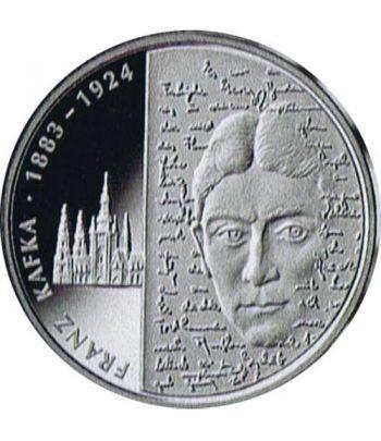 moneda Alemania 10 Euros 2008 G. Franz Kafka.  - 1