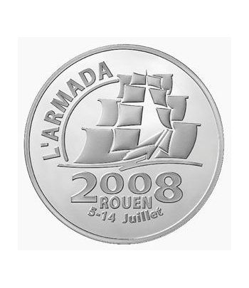 Francia 1 1/2 € 2008 Armada Rouen  - 2