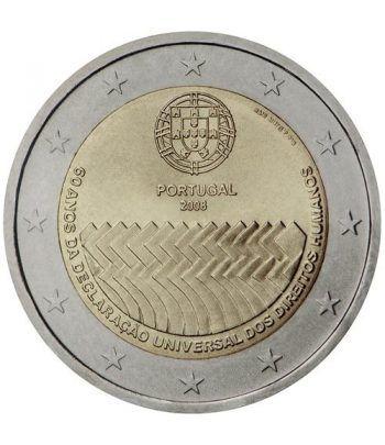 moneda conmemorativa 2 euros Portugal 2008.  - 2