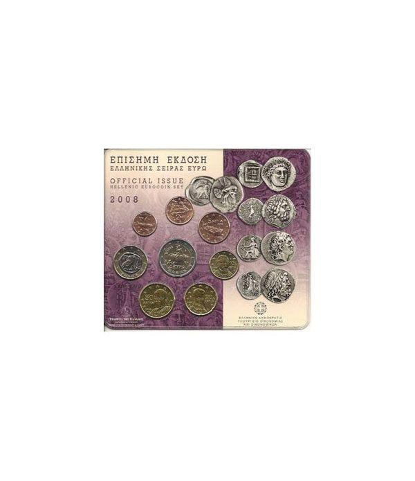 Cartera oficial euroset Grecia 2008  - 2