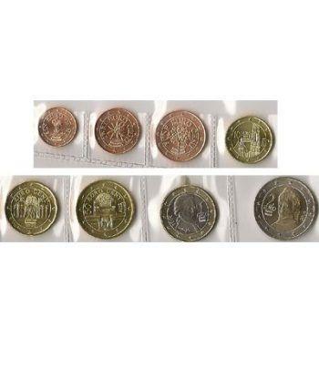 monedas euro serie Austria 2008  - 2