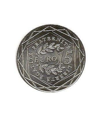 Francia 15 euros 2008. La semeuse. Plata.  - 1