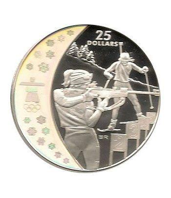 Canada 25$ (2007) Vancouver 2010 (Biathlon)  - 1