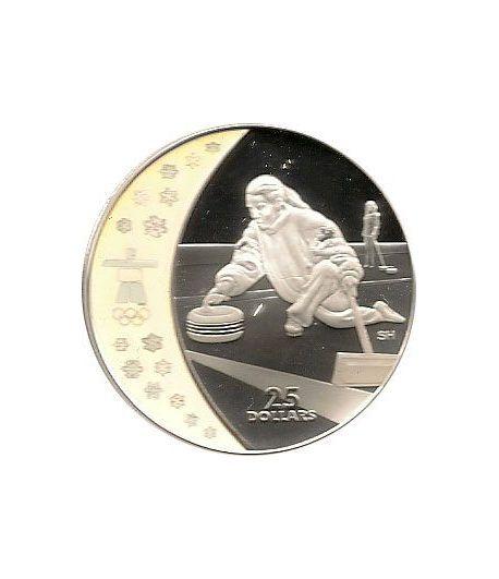 Canada 25$ (2007) Vancouver 2010 (Curling)  - 1