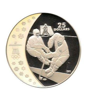 Canada 25$ (2007) Vancouver 2010 (Hockey sobre hielo)  - 1