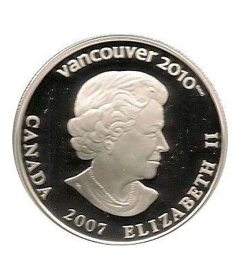 Canada 25$ (2007) Vancouver 2010 (Esquí Alpino)  - 2