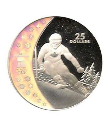 Canada 25$ (2007) Vancouver 2010 (Esquí Alpino)  - 4
