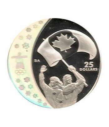 Canada 25$ (2007) Vancouver 2010 (La fiebre de los atletas)  - 4