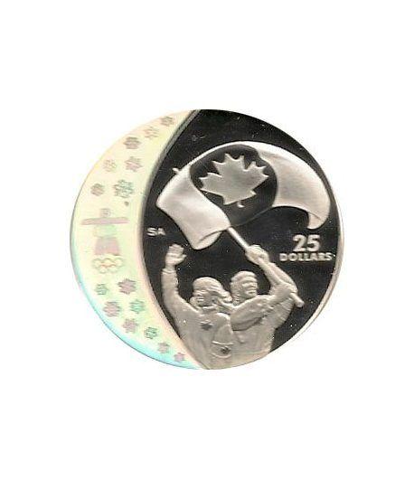 Canada 25$ (2007) Vancouver 2010 (La fiebre de los atletas)  - 1