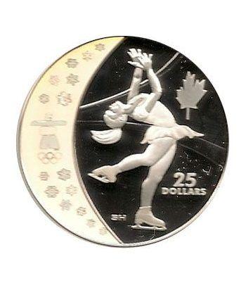 Canada 25$ (2008) Vancouver 2010 (Patinaje artístico)  - 1