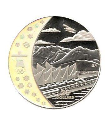 Canada 25$ (2008) Vancouver 2010 (Ciudad Olímpica)  - 1