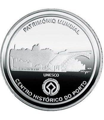 Portugal 2.5 Euros 2008 UNESCO. Oporto. Cuproníquel  - 2