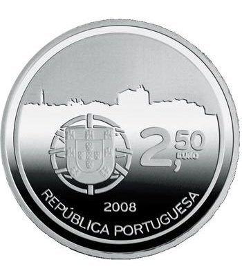 Portugal 2.5 Euros 2008 UNESCO. Oporto. Cuproníquel  - 4