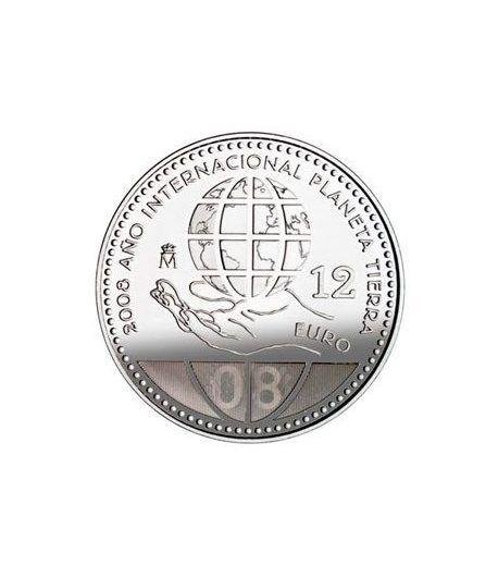 Moneda conmemorativa 12 euros 2008.  - 2