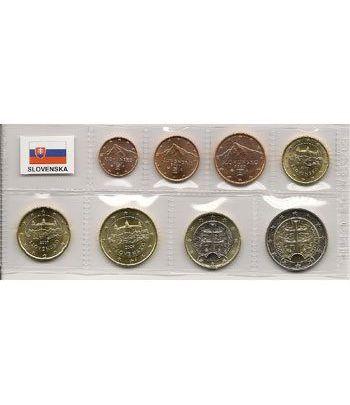 monedas euro serie Eslovaquia 2009  - 2