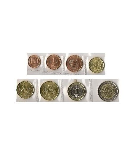 monedas euro serie Italia 2008  - 2