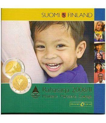 Cartera oficial euroset Finlandia 2008 II. Derechos Humanos  - 2