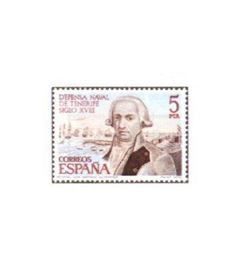 2536 Defensa Naval de Tenerife. Siglo XVIII  - 2