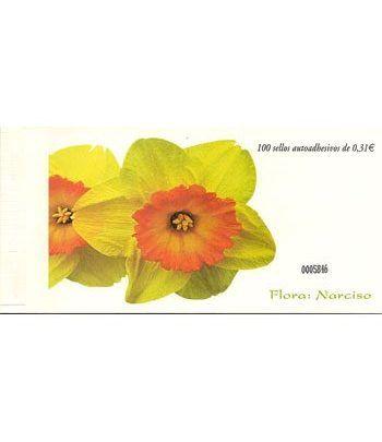 4380 Fauna y Flora (2008) NARCISO (carnet de 100 sellos)  - 2
