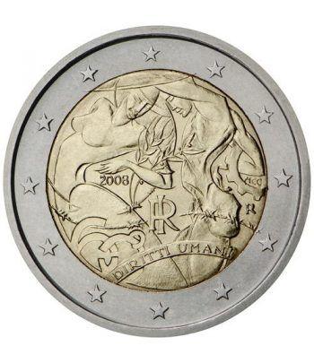 moneda conmemorativa 2 euros Italia 2008.  - 2