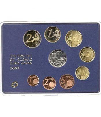 Cartera oficial euroset Eslovaquia 2009 Proof  - 1