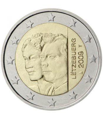 moneda conmemorativa 2 euros Luxemburgo 2009.  - 2