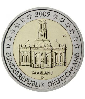 moneda conmemorativa 2 euros Alemania 2009. 5 monedas.  - 2