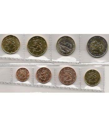 monedas euro serie Finlandia 2009  - 2