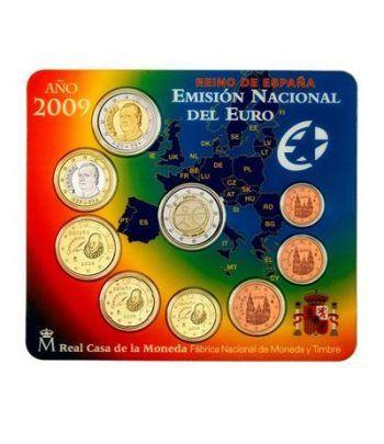 Cartera oficial euroset España 2009 + 2€ EMU  - 1