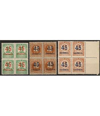 0742/44 Cifras (Bloque de 4)  - 2