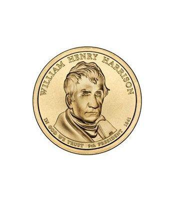 E.E.U.U. 1$ (2009) 09º Presidencial W. Henry Harrison (2cecas)  - 2