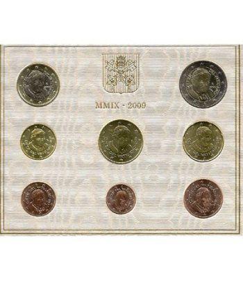 Cartera oficial euroset Vaticano 2009  - 1