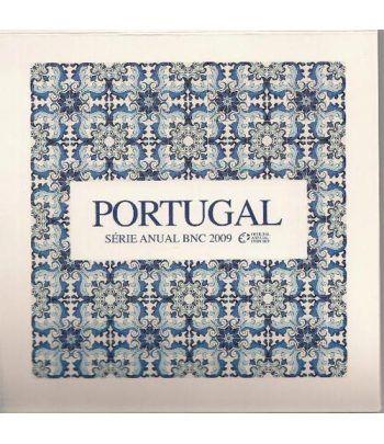 Cartera oficial euroset Portugal 2009  - 2