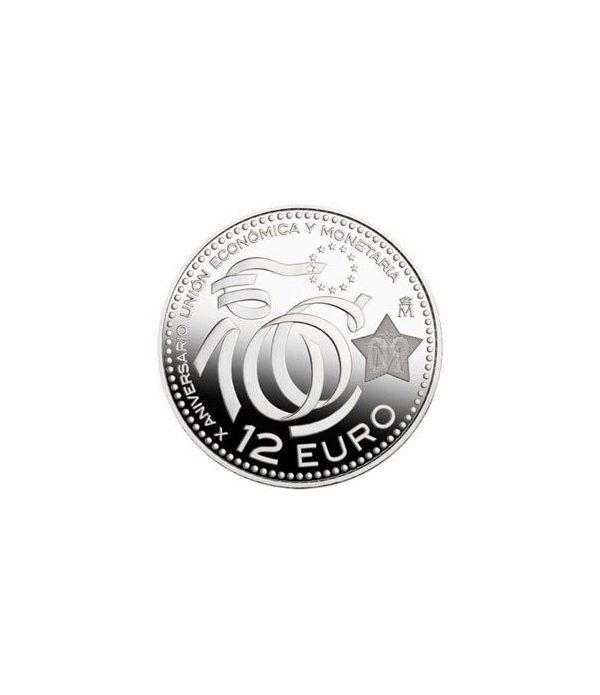 Moneda conmemorativa 12 euros 2009.  - 2
