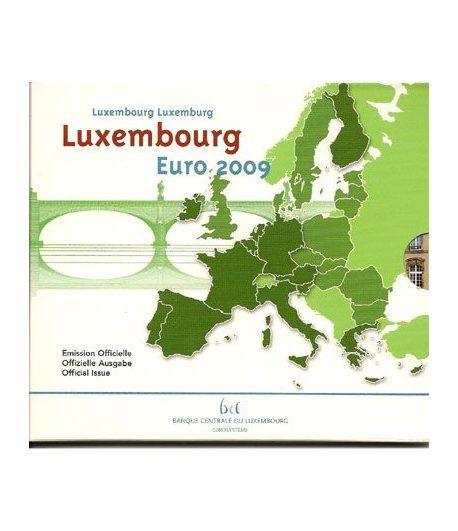 Cartera oficial euroset Luxemburgo 2009  - 2